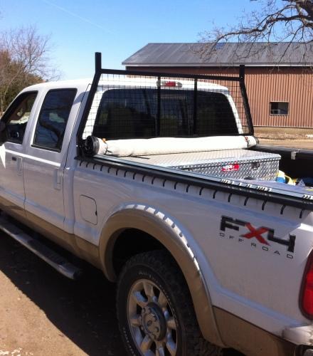 Truck Head Rack and Box Protectors