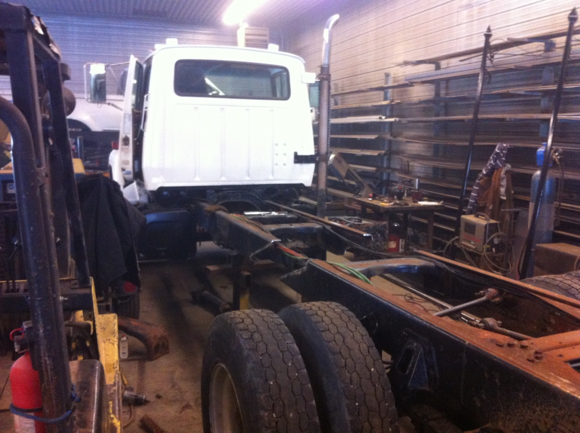 Modify (shorten) Truck Frame
