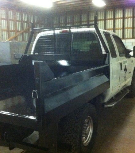 Custom Dump Box for Pickup Truck