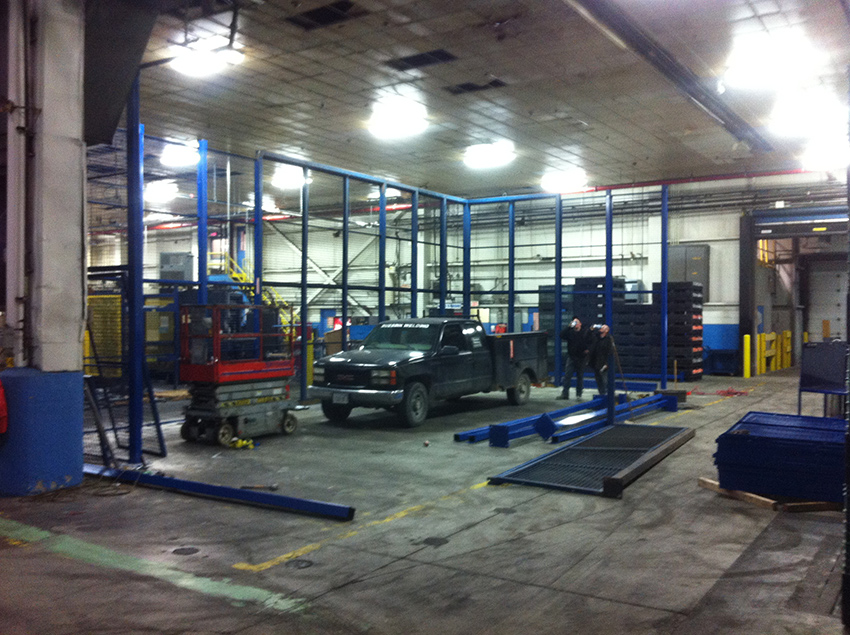 Racking Cages Design & Install