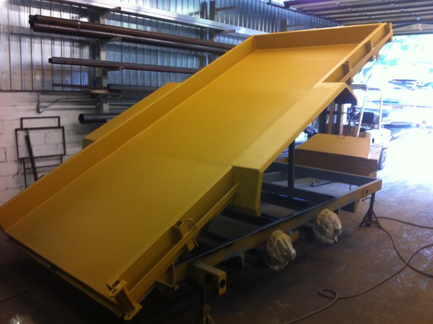 Hydraulic Lift Trailer