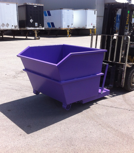 Portable Steel Waste Bin